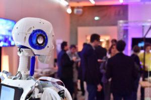 exposition et lancement de produit de nouvelles technologies