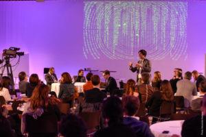 une conférence high tech sur les technologies de demain