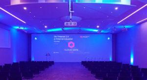 salle de conférence équipée avec fibre optique
