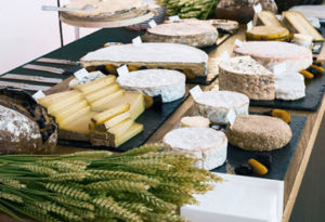 buffet fromages de France Aop