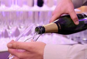 service du cocktail champagne