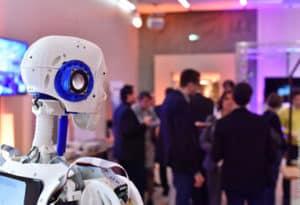 expositions et lancement de produits de nouvelles technologies