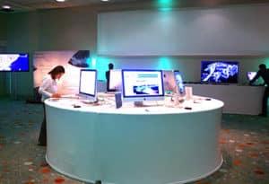 Lancement de produits et show Room pour logiciels informatiques